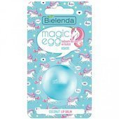 Bielenda | Balsam do ust w kulce | Magic Egg Lip Balm | Kokos 8,5G