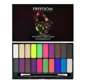 Freedom Makeup Pro Decadence Clubbed paleta cieni