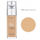 Loreal True Match Foundation Podkład Odcień W4 Golden Natural 30ml