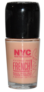 N.Y.C. lakier do frencha z pro-witaminą B5 i filtrem UV 9,7ml nr 168 Pink Princess