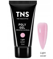 TNS PolyGel Akrylożel Light Cover 15ml