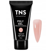 TNS PolyGel Akrylożel Natural Light Pink 15ml