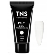 TNS PolyGel Akrylożel Super White 15ml