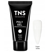 TNS PolyGel Akrylożel Super White 30ml