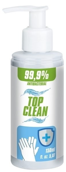 Antybakteryjny żel do rąk Top Clean 150ml