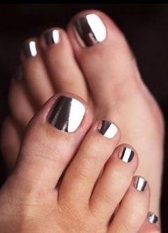 Baza Top Pod Efekt Lustra Chromu Syrenki Manicure I Pedicure