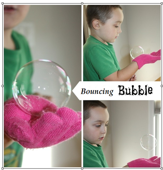 Bouncing Bubbles  Zestaw do baniek