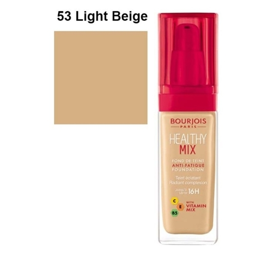 Bourjois healthy mix podkład 53 Light Beige 30ml