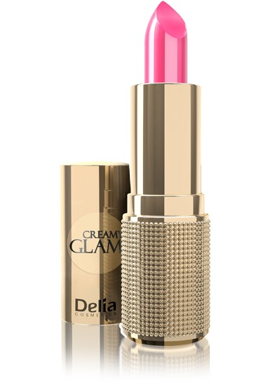 Delia Cosmetics Creamy Glam Pomadka do ust nr 107