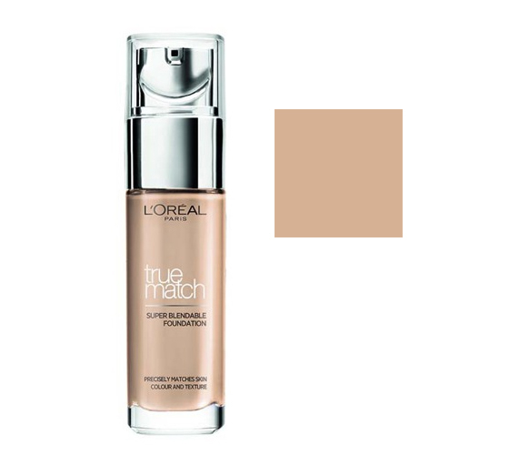 Loreal True Match Foundation Podkład Odcień D5 W5 Golden Sand 30ml