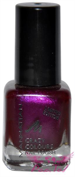 Manhattan Crazy Colours 65W lakier ciemny fiolet 5ml