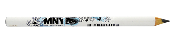 Maybelline Eye Pencil MNY Grafitowa kredka do powiek nr 020 Grey