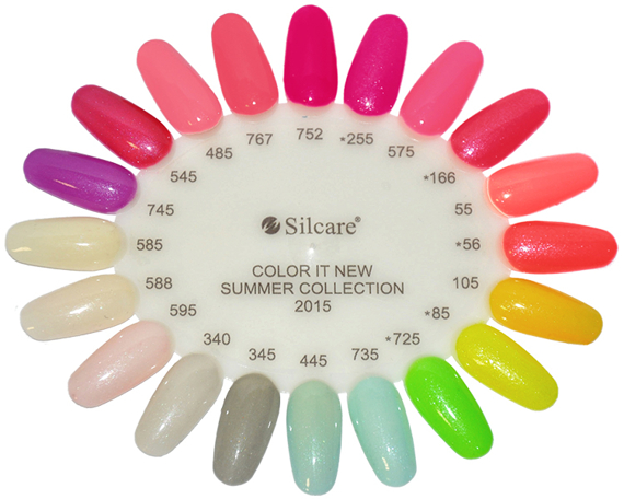 Silcare Color It Lakier Hybrydowy Kolor 10 8g