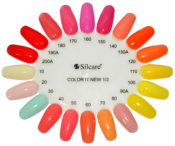 Silcare Color It Lakier Hybrydowy Kolor 91A 8g