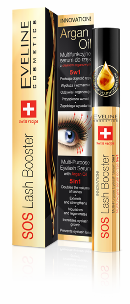 Sos Lash Booster Eveline Serum do Rzęs 10ml