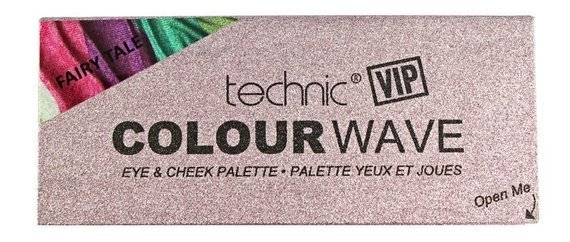 Technic VIP Colour Wave Eye & Cheek Paleta Do Makijażu Twarzy Fairy Tale
